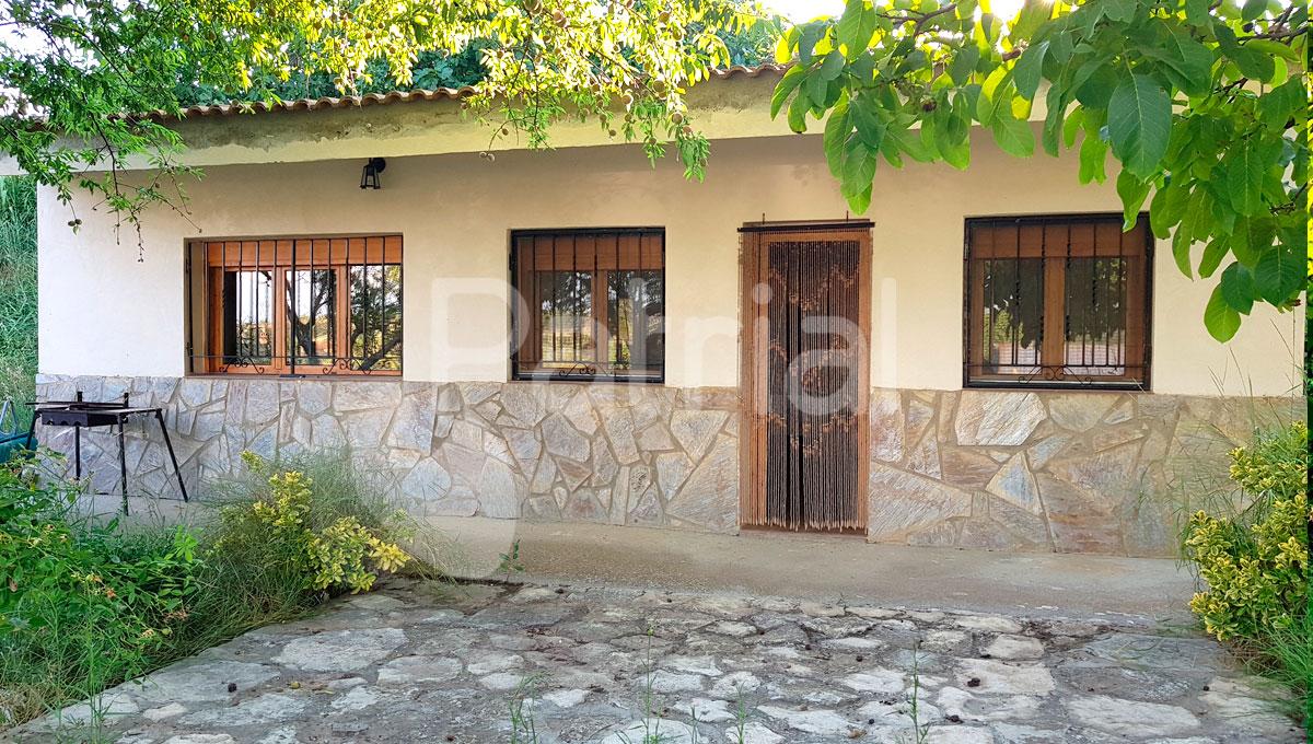 Caseta muy bien acondicionada con huerto en Sariñena, Huesca