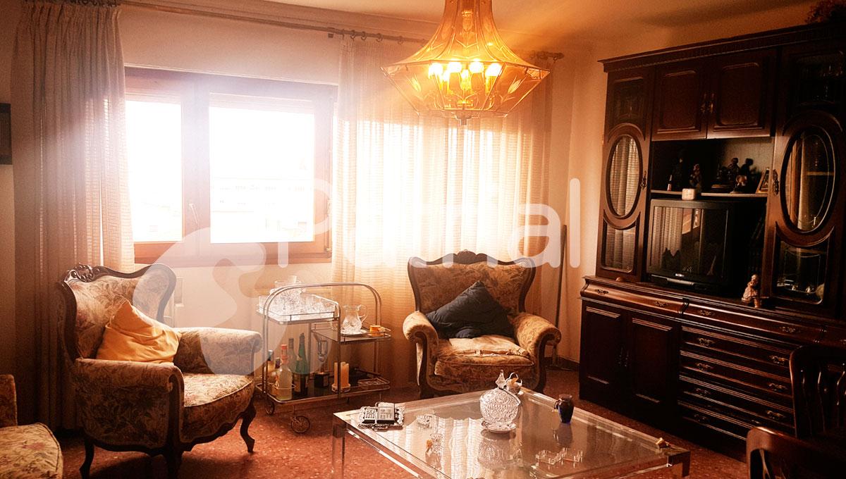 Excelente piso en venta en Sariñena, Huesca.